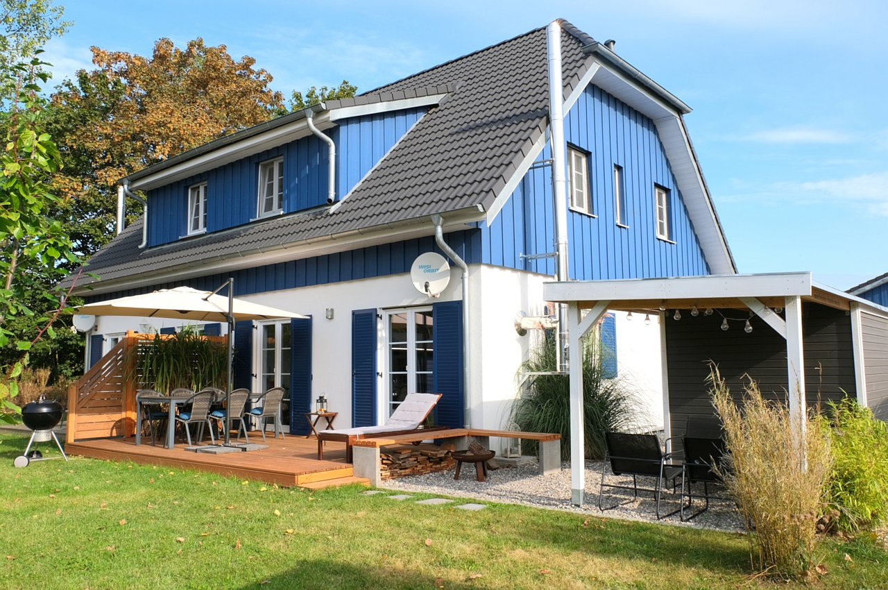 The Holiday Home Miss Sea - Frauelein Meer on the island of Ruegen