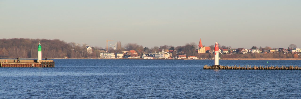 Altefaehr seen from Stralsund