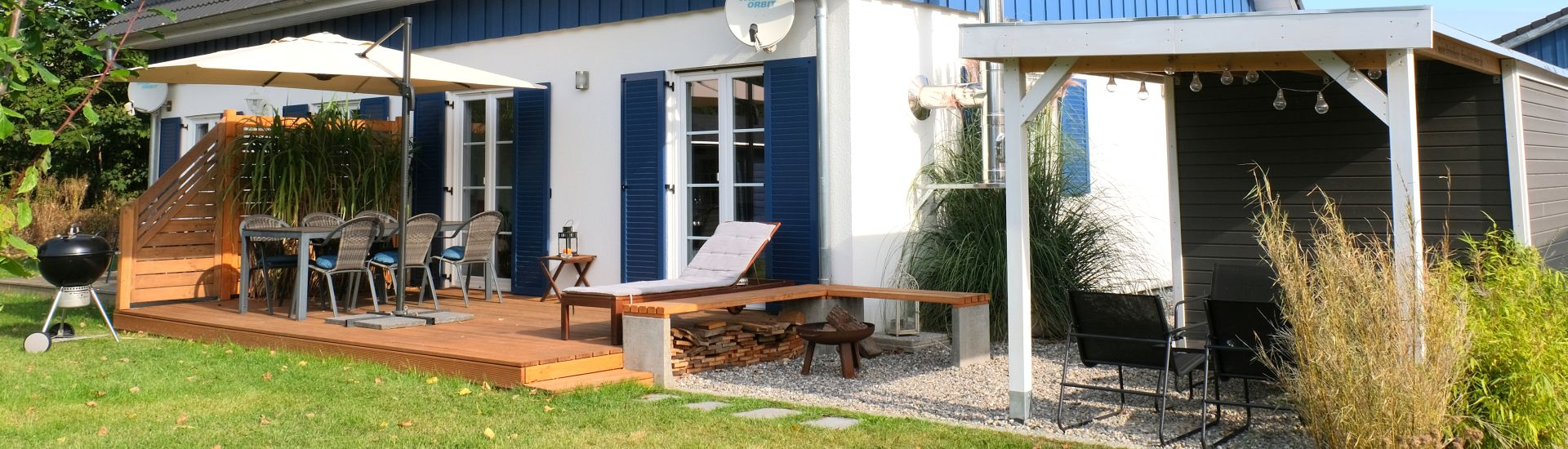 Holiday Home 'Fraeulein Meer - Miss Sea' - Your holiday home on the island of Ruegen.
